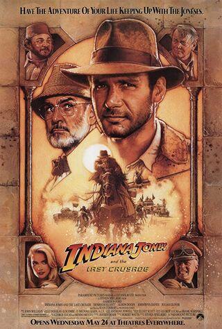 Indiana Jones and the Last Crusade (1989) Main Poster