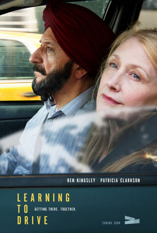 Learning To Drive (2015) Main Poster