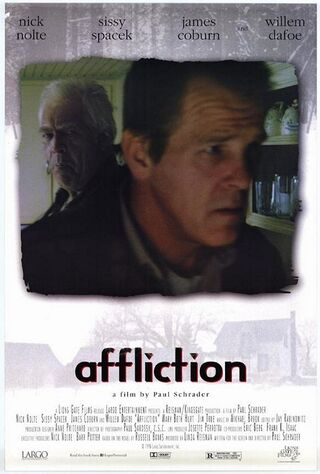 Affliction (1999) Main Poster