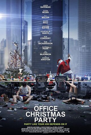 Office Christmas Party (2016) Main Poster