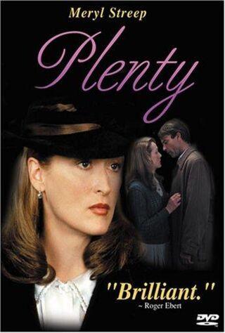Plenty (1985) Main Poster