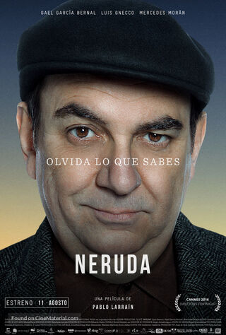 Neruda (2016) Main Poster
