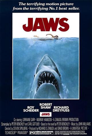 Jaws (1975) Main Poster