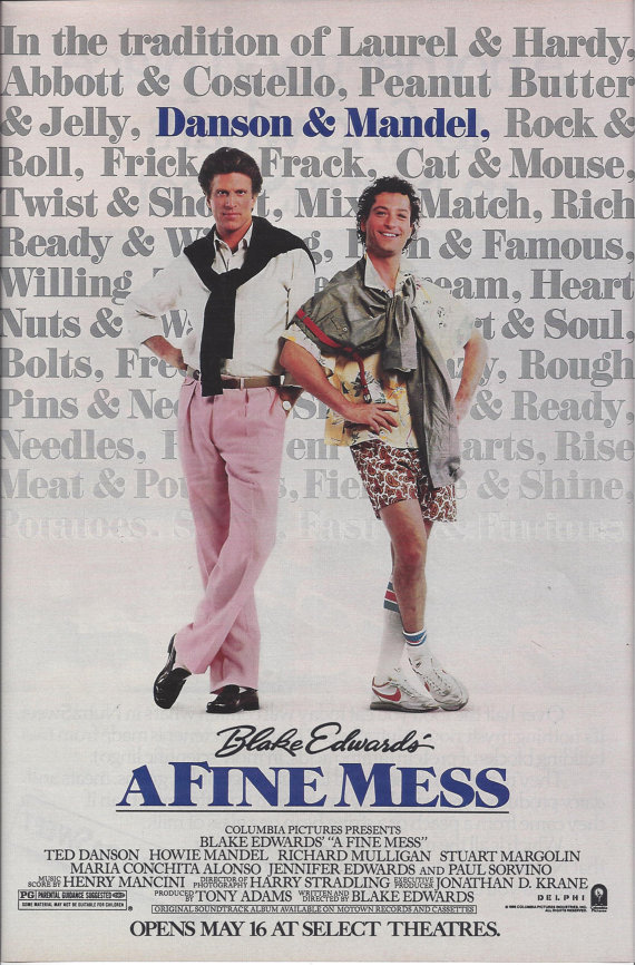 A Fine Mess (1986) Main Poster