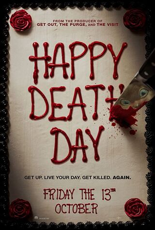 Happy Death Day (2017) Main Poster