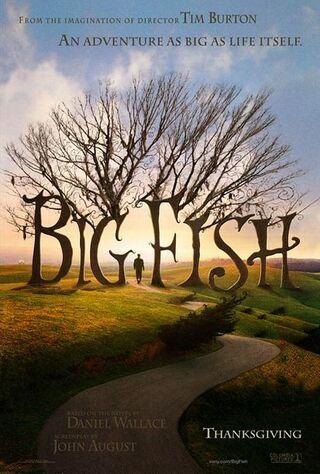 Big Fish (2004) Main Poster