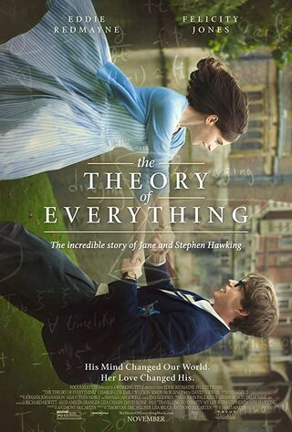 The Theory Of Everything (2014) Main Poster