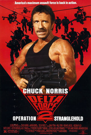 Delta Force 2: The Colombian Connection (1990) Main Poster