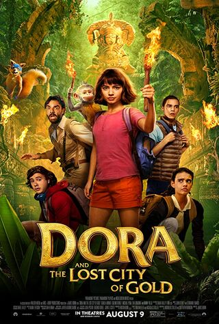 Dora And The Lost City Of Gold (2019) Main Poster