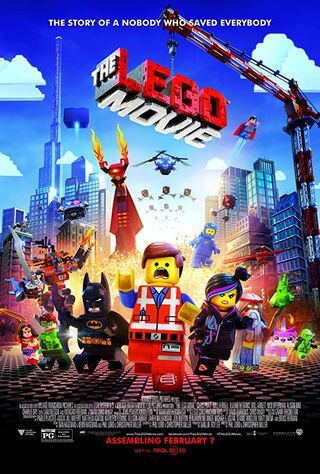 The Lego Movie (2014) Main Poster