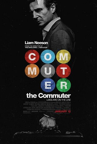 The Commuter (2018) Main Poster