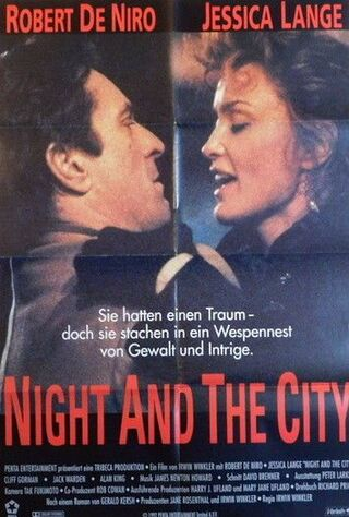 Night And The City (1992) Main Poster