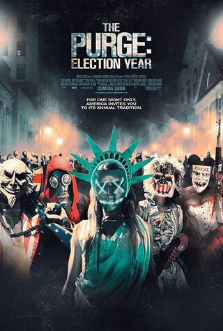 The Purge: Election Year (2016) Main Poster