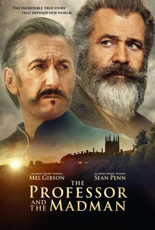 The Professor And The Madman (2019) Main Poster