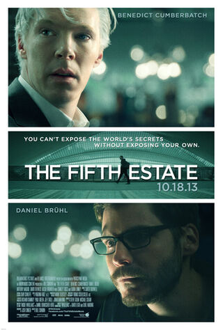 The Fifth Estate (2013) Main Poster