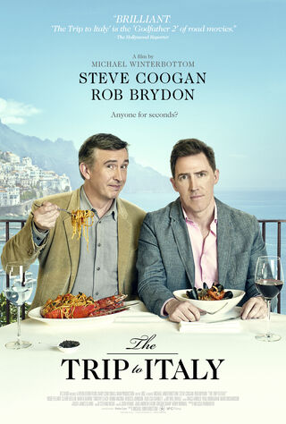 The Trip To Italy (2014) Main Poster