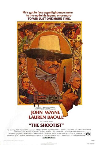 The Shootist (1976) Main Poster