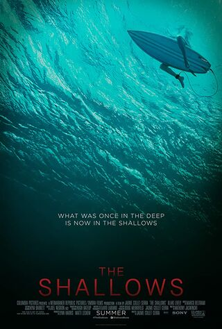 The Shallows (2016) Main Poster