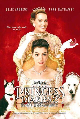 The Princess Diaries 2: Royal Engagement (2004) Main Poster