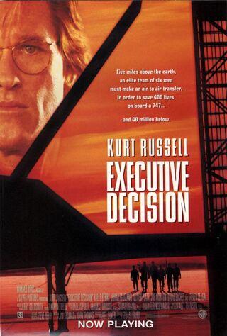 Executive Decision (1996) Main Poster