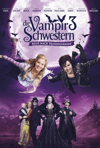 Vampire Sisters 3: Journey To Transylvania (2016) Main Poster