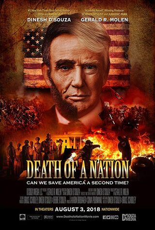 Death Of A Nation (2018) Main Poster