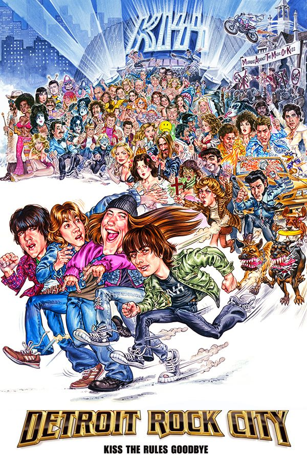 Detroit Rock City (1999) Main Poster