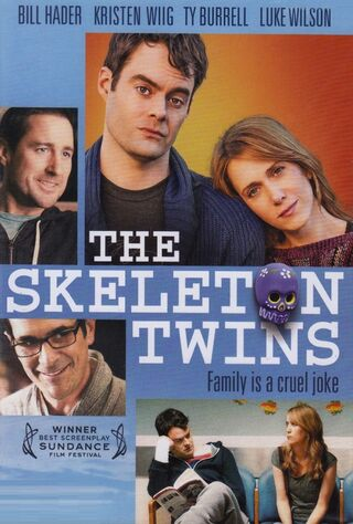 The Skeleton Twins (2014) Main Poster