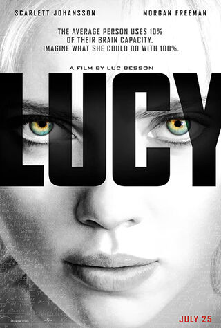 Lucy (2014) Main Poster