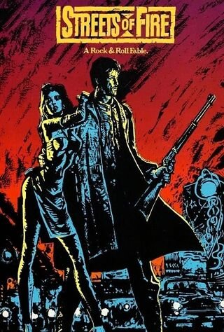 Streets Of Fire (1984) Main Poster