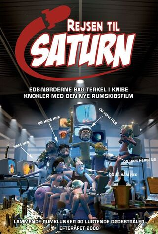 Journey To Saturn (2008) Main Poster