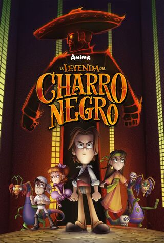 La Leyenda Del Charro Negro (2018) Main Poster