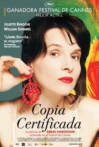Certified Copy (2011) Main Poster