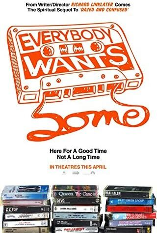 Everybody Wants Some!! (2016) Main Poster