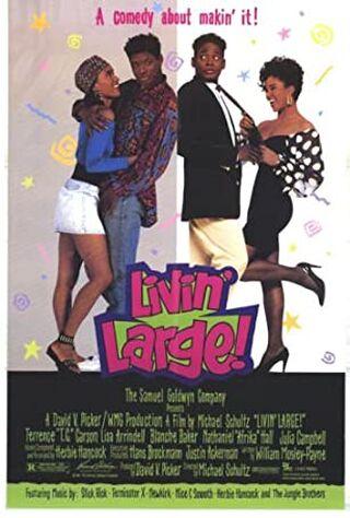 Livin' Large! (1991) Main Poster