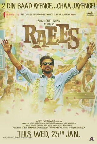 Raees (2017) Main Poster