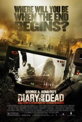 Diary Of The Dead (2008) Main Poster