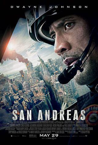 San Andreas (2015) Main Poster