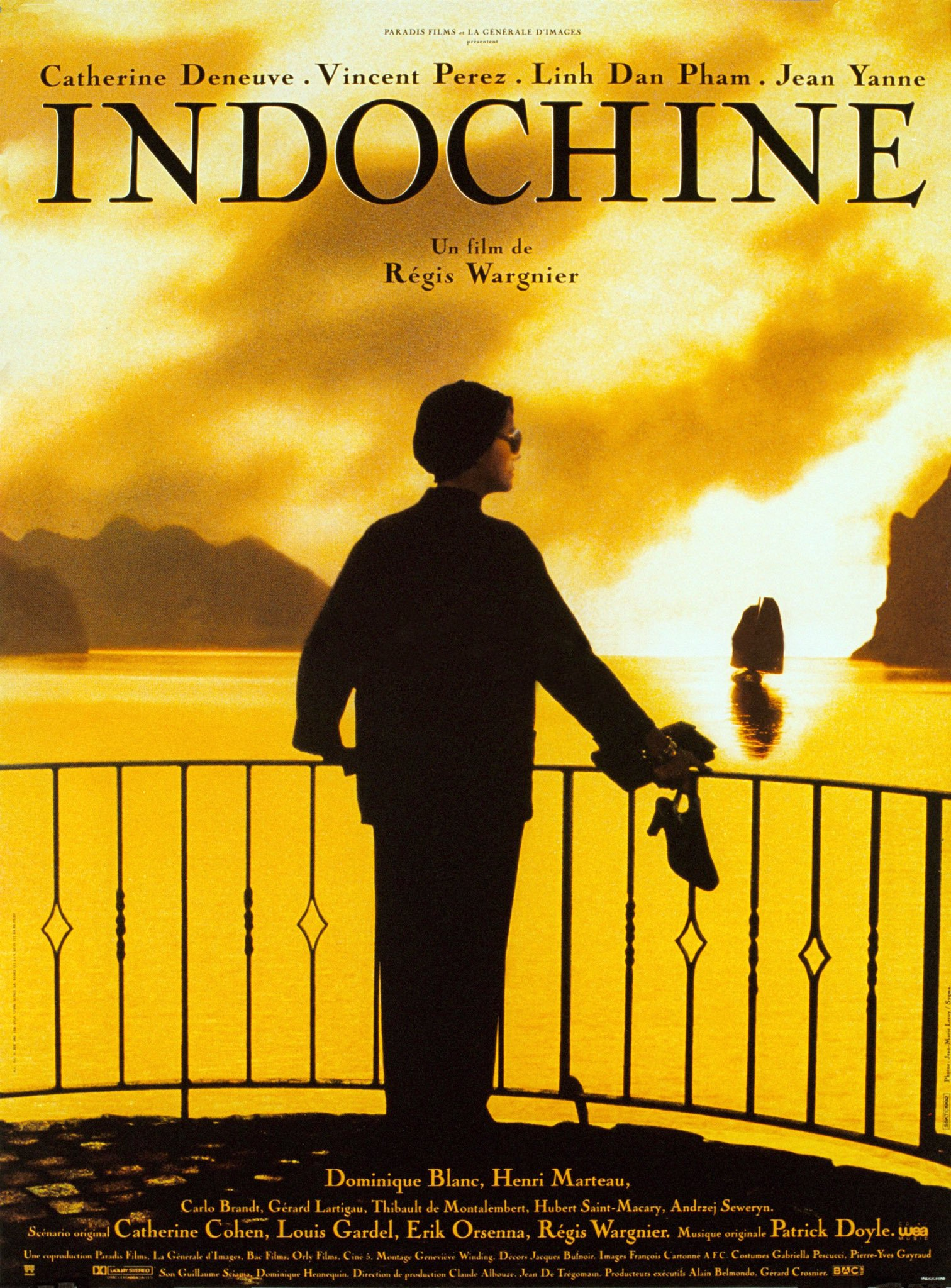 Indochine (1992) Main Poster