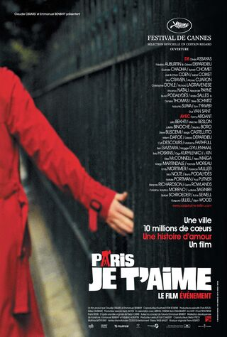 Paris, Je T'aime (2007) Main Poster