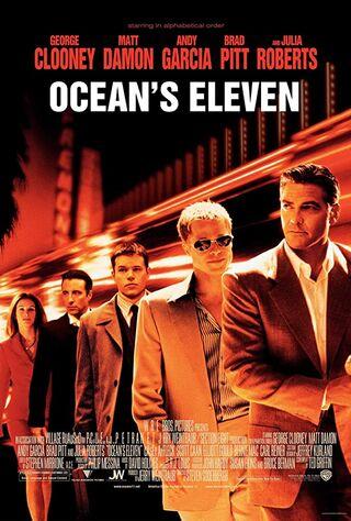 Ocean's Eleven (2001) Main Poster