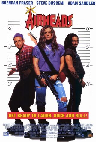 Airheads (1994) Main Poster
