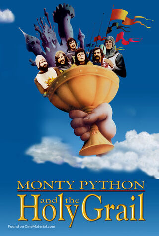 Monty Python And The Holy Grail (1975) Main Poster