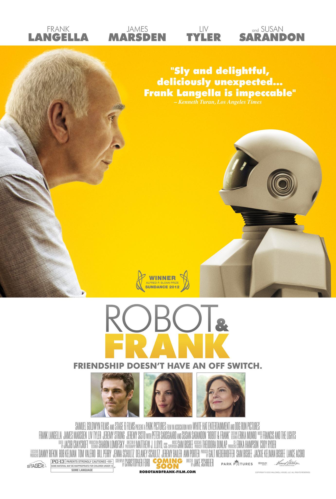 Robot & Frank (2012) Poster #2