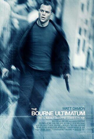 The Bourne Ultimatum (2007) Main Poster