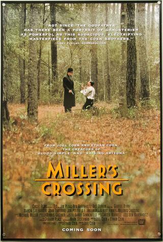 Miller's Crossing (1990) Main Poster