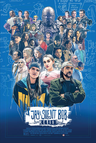 Jay And Silent Bob Reboot (2019) Main Poster