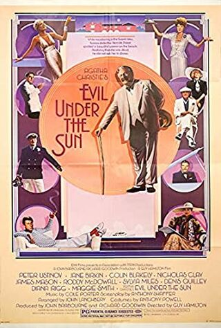 Evil Under The Sun (1982) Main Poster