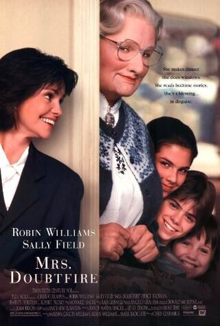 Mrs. Doubtfire (1993) Main Poster
