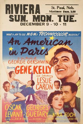 An American In Paris (1951) Main Poster